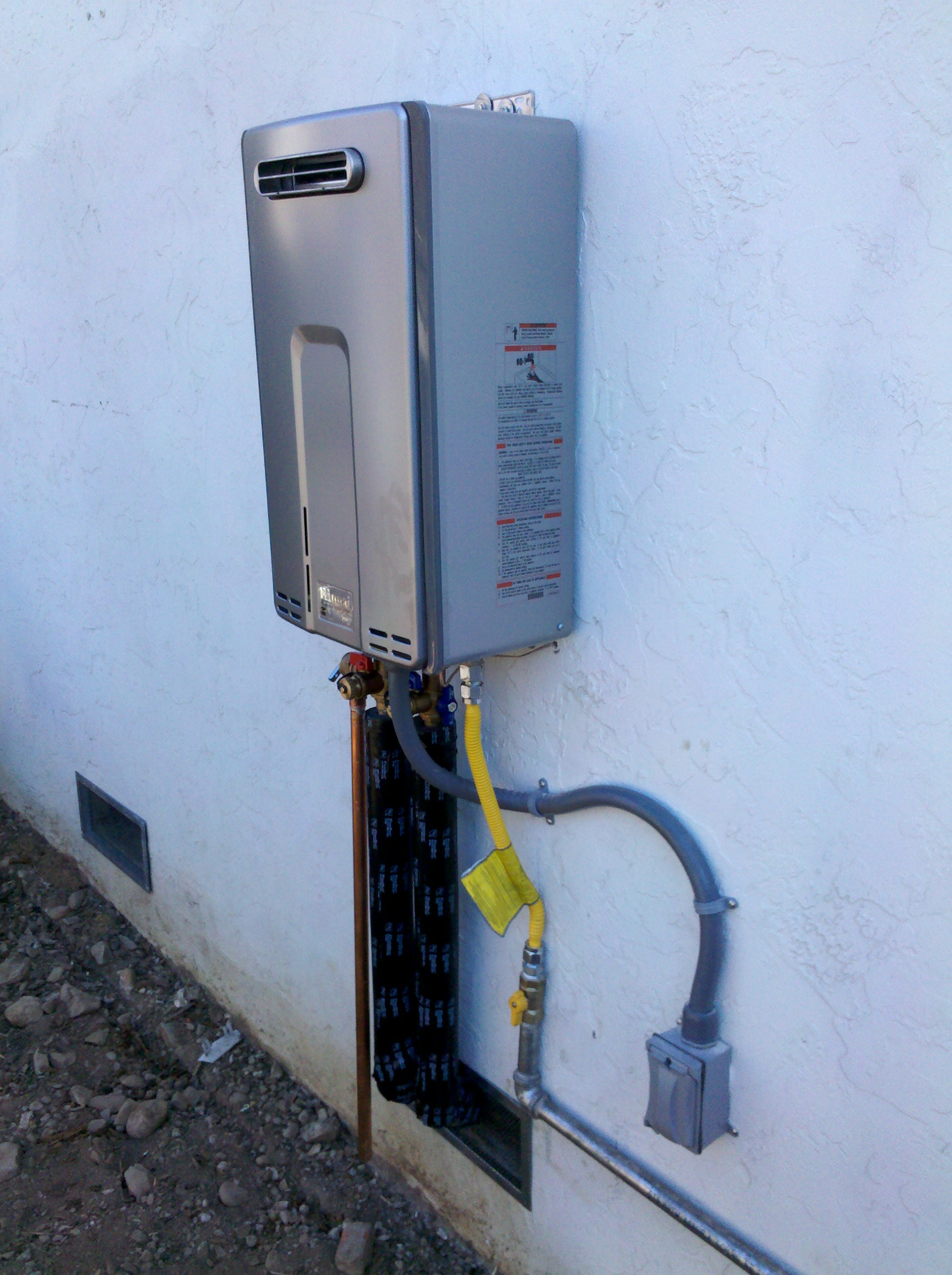 Tankless Water Heater ⋆ Quick Plumbing Services